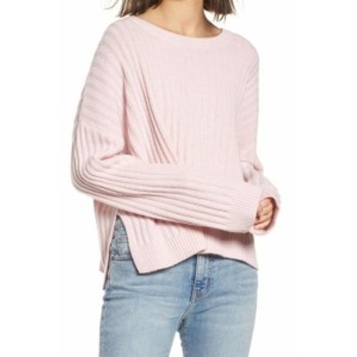 Rails レイルズ ファッション トップス Rails Womens Pink Size Large L Ribbed Knit Knitted Wool Sweater