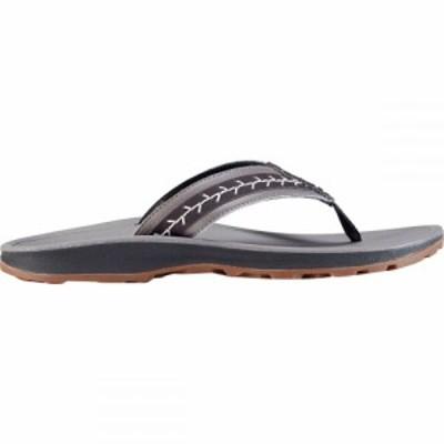 チャコ Chaco レディース ビーチサンダル シューズ・靴 Playa Pro Leather Flip Flop Gray
