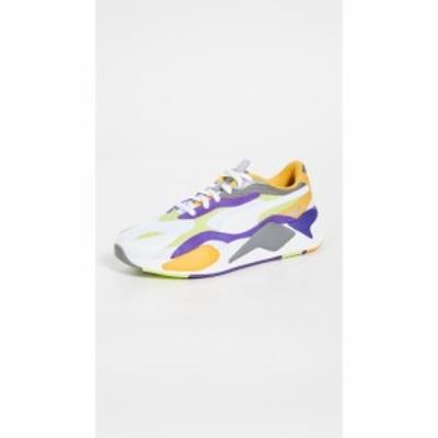 プーマ PUMA Select メンズ スニーカー シューズ・靴 RS-X3 Sneakers Puma White/Limepunch