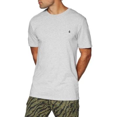 ボルコム Volcom メンズ Tシャツ トップス Stone Blanks BSC Short Sleeve T-Shirt Heather Grey