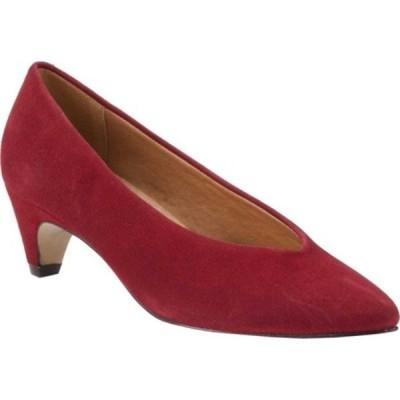 ウォーキング クレイドル サンダル シューズ レディース Bristol Pointed Toe Pump (Women's) Cranberry Suede