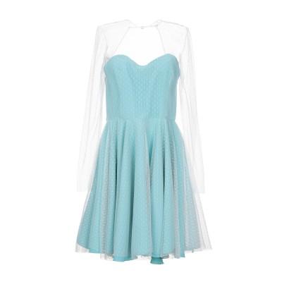 ALEX VIDAL ミニワンピース&ドレス ライトグリーン 36 ナイロン 100% / ポリエステル ミニワンピース&ドレス
