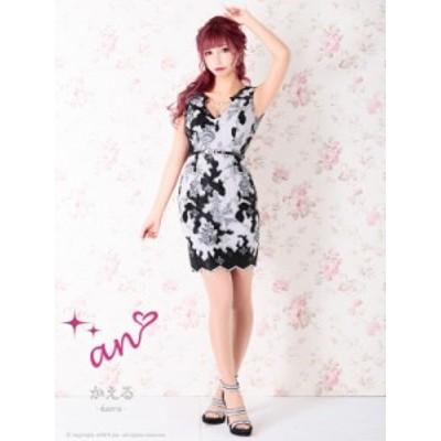 an ドレス AOC-3078 ワンピース ミニドレス Andyドレス アンドレス キャバクラ キャバ ドレス キャバドレス