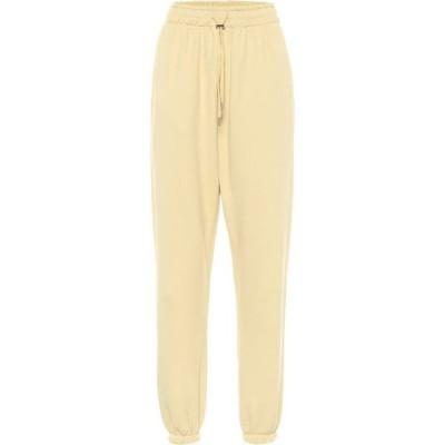 フランキー ショップ Frankie Shop レディース スウェット・ジャージ ボトムス・パンツ Vanessa cotton sweatpants Banana