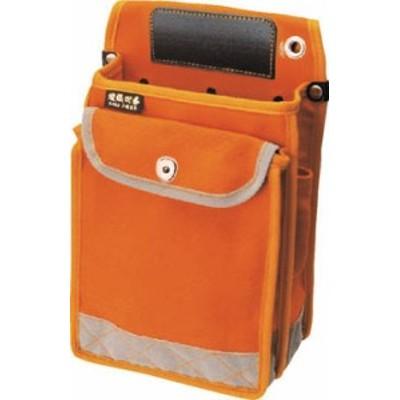 コヅチ 送電工事向電工用腰袋デラックスタイプ【KCN-19DXBOR】(工具箱・ツールバッグ・ツールホルダ・バッグ)