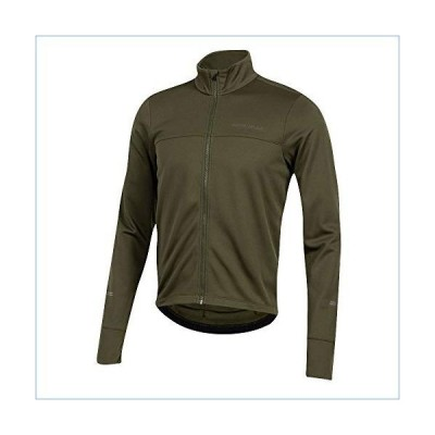 PEARL IZUMI Men's Quest Thermal Cycling Jersey, Forest, Small並行輸入品