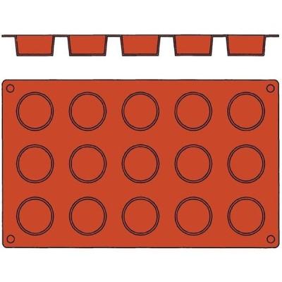 bourgeat EBM-7385100 ガストロフレックス 丸平プチフール(1枚)2579.16(15ヶ取) (EBM7385100)