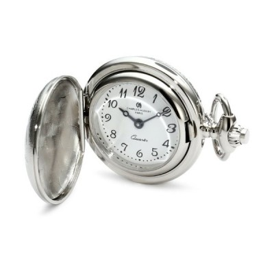 チャールズヒューバート Charles-Hubert, Paris 懐中時計 ポケット ウォッチ ホワイト 6820