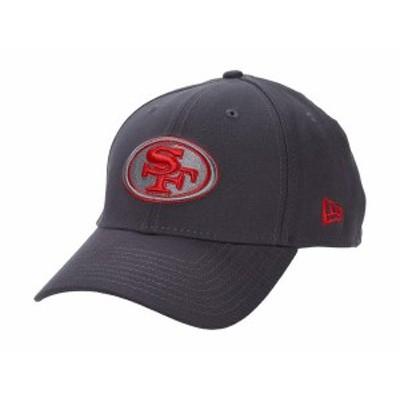 ニューエラ メンズ 帽子 アクセサリー NFL Stretch Fit Graphite 3930 -- San Francisco 49ers Graphite
