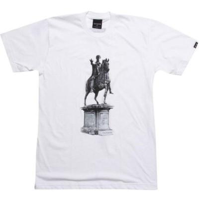 トライアンビアー Triumvir メンズ Tシャツ トップス Live Long And Prosper Tee white