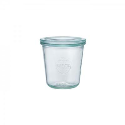 WECKガラスキャニスター900 Mold Shape 290ml パッキンサイズM