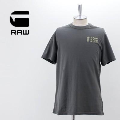G-STAR RAW ジースターロゥ メンズ ビッグバック グラフィックTシャツ(D20481-336)(2021SS)