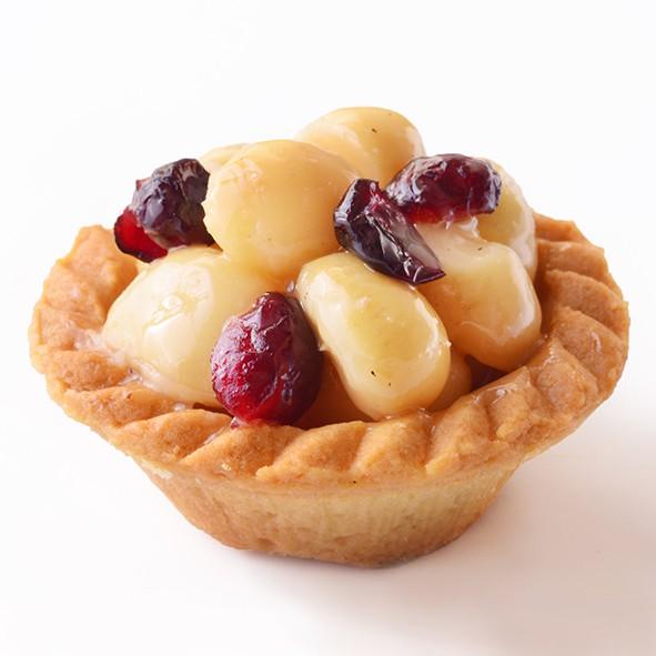 【艾薇手工坊】蜂蜜蔓越莓夏威夷豆塔/單顆