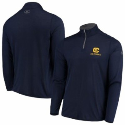 Under Armour アンダー アーマー スポーツ用品  Under Armour Cal Bears Navy Threadborne Quarter-Zip Jacket
