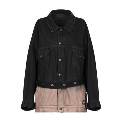 MARCELO BURLON デニムブルゾン  レディースファッション  ジャケット  ブルゾン、ジャンバー ブラック