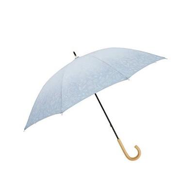 小川(Ogawa) 長傘 晴雨兼用日傘 手開き 50cm 8本骨tenoe/Naturel そよ風と花のダンス UV加工 はっ水 安全カバー付き 鳥型