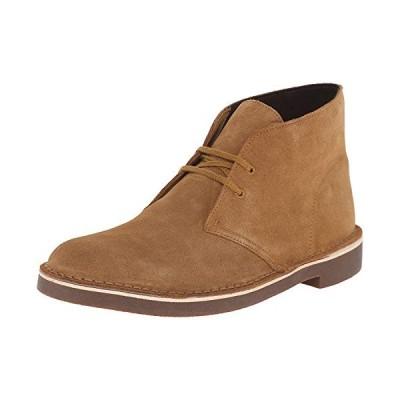 Clarks Men's Bushacre 2 Chukka Boot, Wheat Suede, 12 Medium US【並行輸入品】