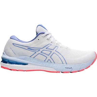 アシックス ASICS レディース ランニング・ウォーキング シューズ・靴 GT-2000 10 Running Shoes White/Blue