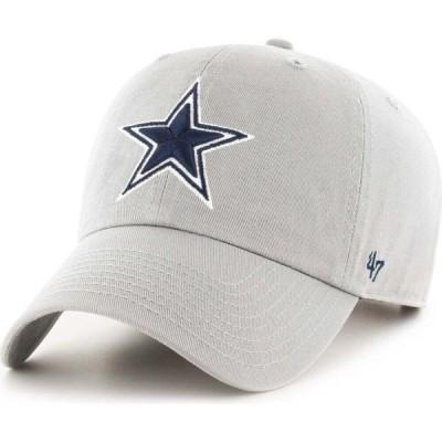 フォーティセブン 47 メンズ キャップ 帽子 Dallas Cowboys Adjustable Grey Hat