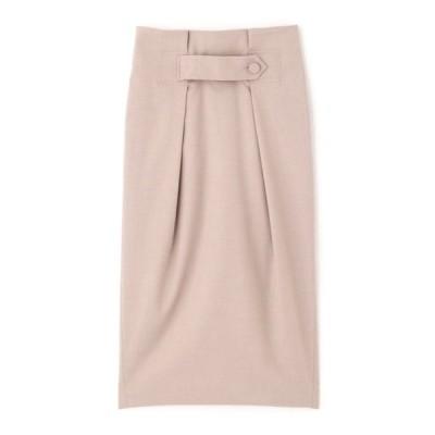 スカート ◆ウエストタブタックタイトスカート