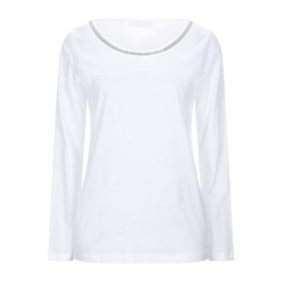 ファビアナフィリッピ FABIANA FILIPPI T シャツ ホワイト 44 コットン 100% / 真鍮/ブラス T シャツ