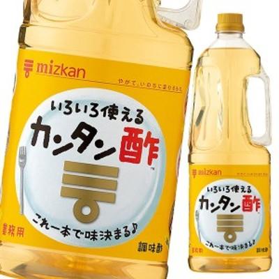 【送料無料】ミツカン カンタン酢 1.8L×1ケース(全6本)