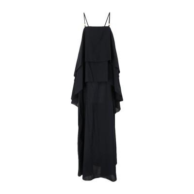ロートレ ショーズ L' AUTRE CHOSE ロングワンピース&ドレス ブラック 42 コットン 100% ロングワンピース&ドレス