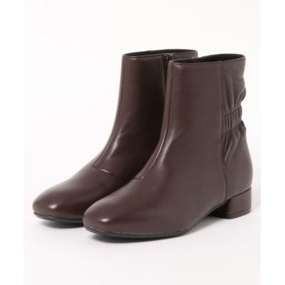 あしながおじさん / 〈cava cava (サヴァサヴァ)〉シャーリングブーツ WOMEN シューズ > ブーツ