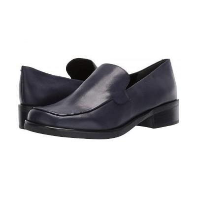 Franco Sarto フランコサルト レディース 女性用 シューズ 靴 ローファー ボートシューズ Bocca - Navy Leather
