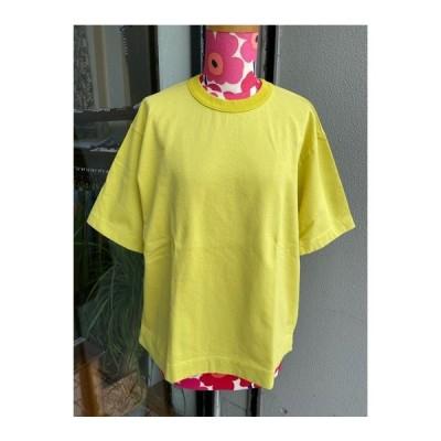 NATURAL LAUNDRY(ナチュラルランドリー) クラシックベーシックTシャツ 7203-C-001-230イエロー