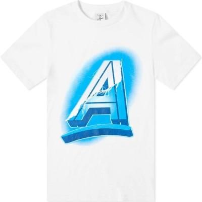 オールタイマーズ Alltimers メンズ Tシャツ トップス lightning champ tee White