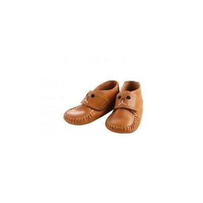 碧南市 ふるさと納税 <紙箱> 靴職人手作り こころがこもったファーストシューズ(ブラウン) H066-001