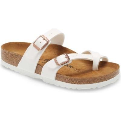 ビルケンシュトック BIRKENSTOCK レディース サンダル・ミュール シューズ・靴 Mayari Birko-Flor Sandal White
