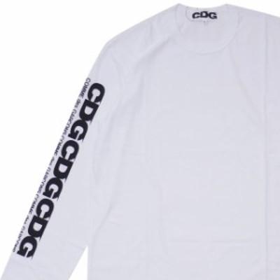 シーディージー CDG コムデギャルソン COMME des GARCONS CDG LS TEE WHITE 【新品】 202000967060 TOPS