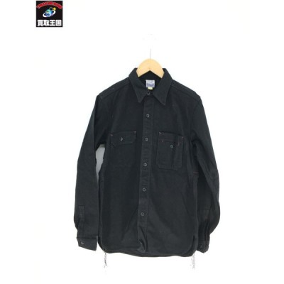 HOMESICK/ワークシャツ/黒/サイズ15[▼]