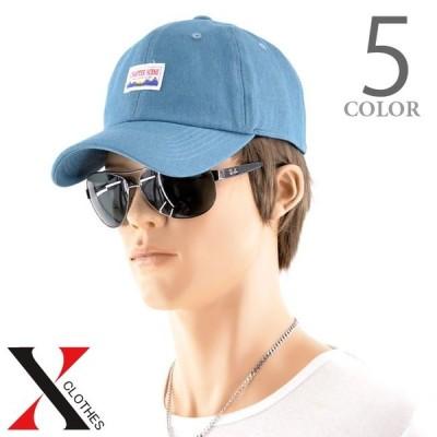 ベースボールキャップ キャップ メンズ 帽子 カラー デニム ローキャップ ストリート カジュアル スポーツMix 浅め 逆被り サイズ調節可