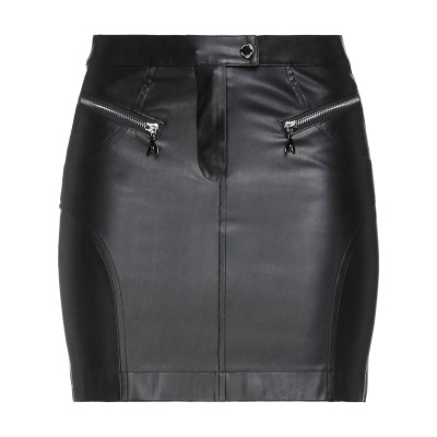 パトリツィア ペペ PATRIZIA PEPE ミニスカート ブラック 40 ポリウレタン 100% ミニスカート