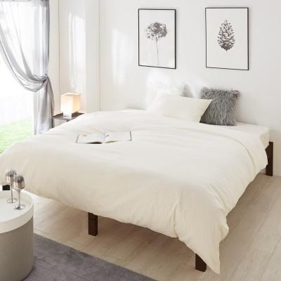 綿素材を使った抗菌防臭掛け布団カバー(フランスベッド)