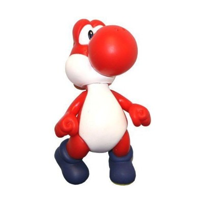 "Super Mario Character Figure Collection ~5"" RED Yoshi~ By Banpresto フィギュア ダイキャスト 人形"