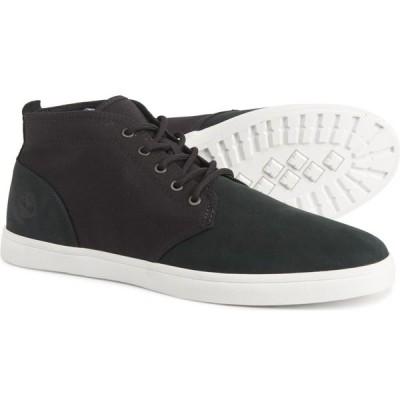 ティンバーランド Timberland メンズ ブーツ チャッカブーツ シューズ・靴 newport bay chukka boots - leather Black