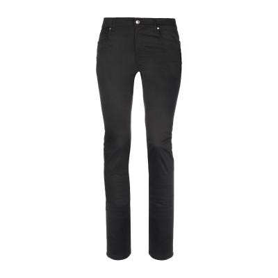 VERSACE パンツ ブラック 34 コットン 98% / ポリウレタン 2% パンツ