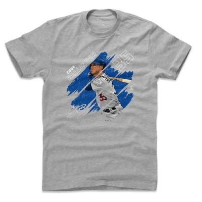 コディ・ベリンジャー Tシャツ MLB ドジャース Stripes T-Shirt 500Level ヘザーグレー