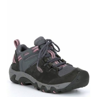 キーン レディース スニーカー シューズ Women's Steens Vent Waterproof Leather Hiking Shoes Magnet/Nostalgia Rose