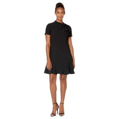 セセ レディース ワンピース トップス Short Sleeve A-Line Dress with Bow