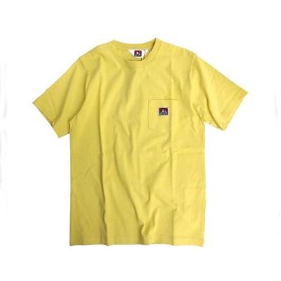 ベンデイビス BEN DAVIS ポケットにスマイリングゴリラのピスネーム ベーシックなデザイン通年着用お勧め Tシャツ メンズ 「958000 44ポケ」