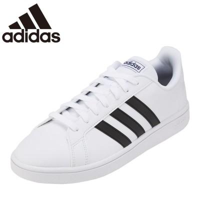アディダス adidas EE7904 M メンズ | スニーカー | 小さいサイズ対応 大きいサイズ対応 | ローカット | ホワイト×ブラック
