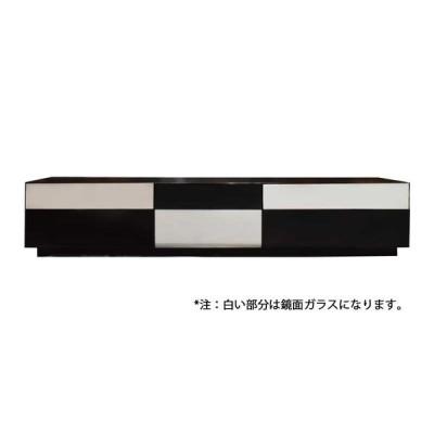テレビボード ミニマルMIN−180BK 幅180cm ブラック 大塚家具(IDC OTSUKA)