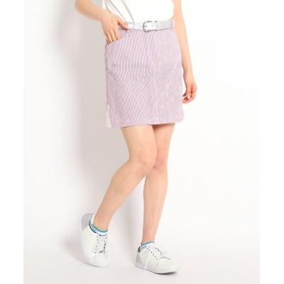 adabat(Ladies)(アダバット(レディース)) 【撥水加工】 サッカーストライプ台形シルエットスカート