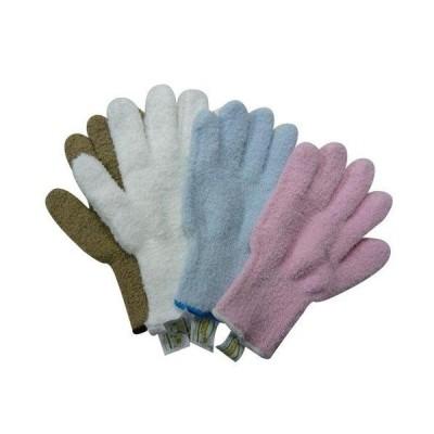 FALCON ウルトラ・マイクロファイバー手袋 エコテックスタグ付き×4色セット(KE702-WH・SB・BE・PK) (5007an)
