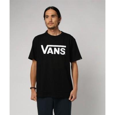 tシャツ Tシャツ VANS ヴァンズ Tシャツ Flying-V BASIC S/S-TEE VANS-04ABC 18SP BLK/WHT
